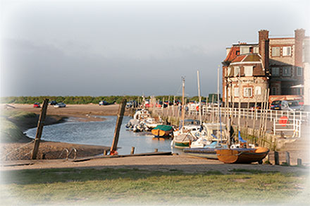 Blakeney Quay, north Norfolk